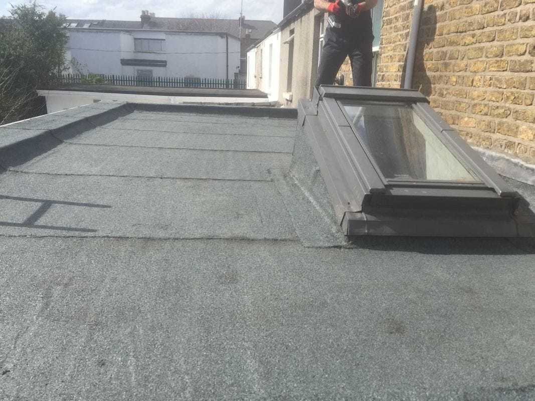 Flat Roof Install and Repairs Dublin with Velux Window