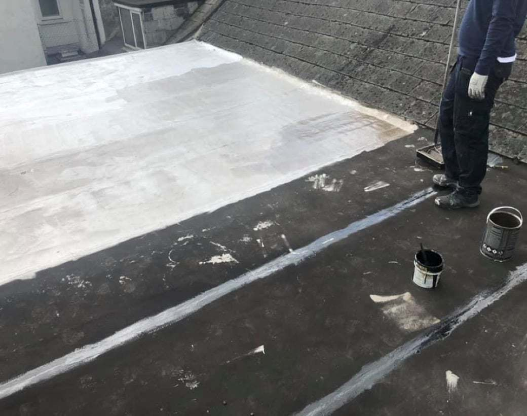 Flat Roof Repair Coating